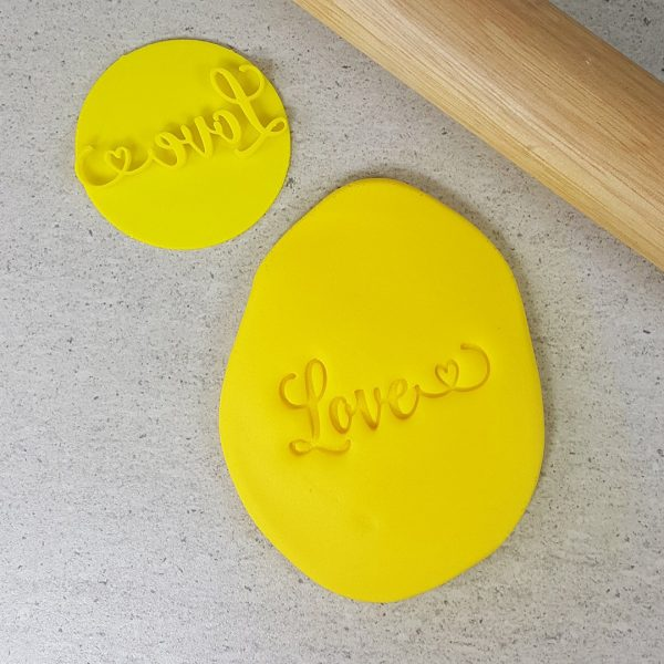 Cookie Cutters Love with Heart Embosser