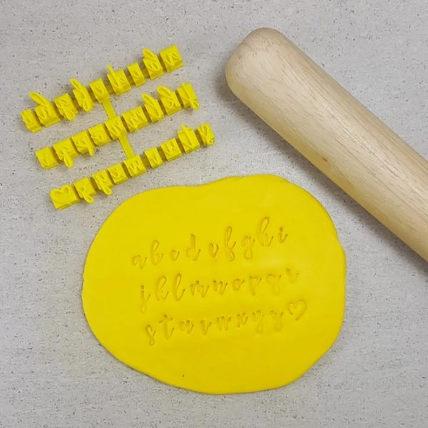 Cookie Cutters V2 Script Stamps Lower Case