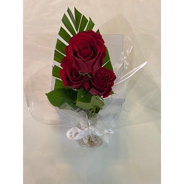 Fresh Red Roses Bouquet 3