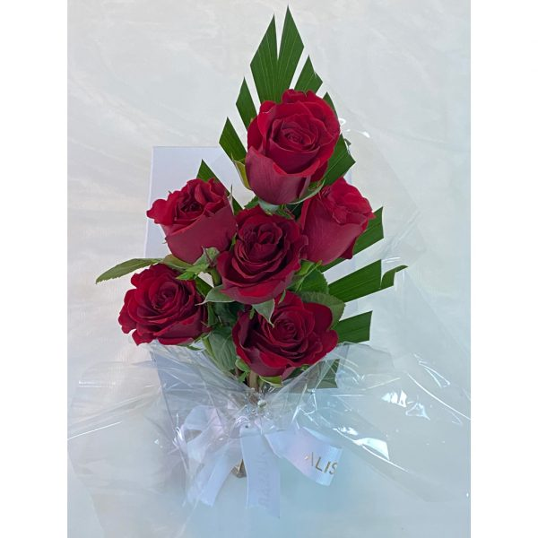 Fresh  Red Roses Bouquet 6