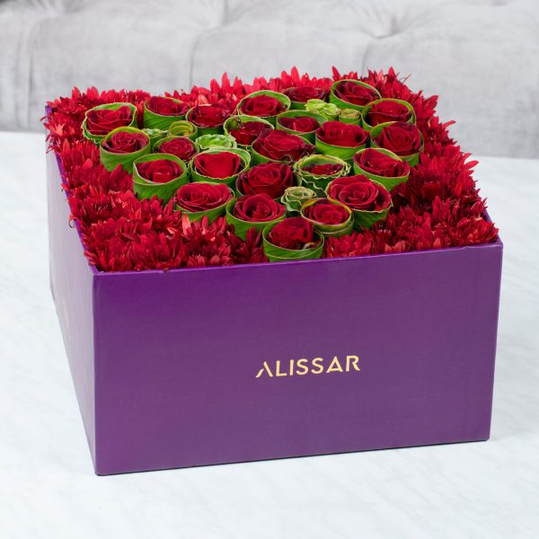 Alissar Flowers The Heart Centerpiece