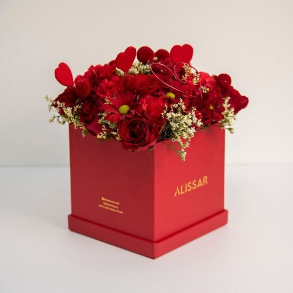 Alissar Flowers Love In Box