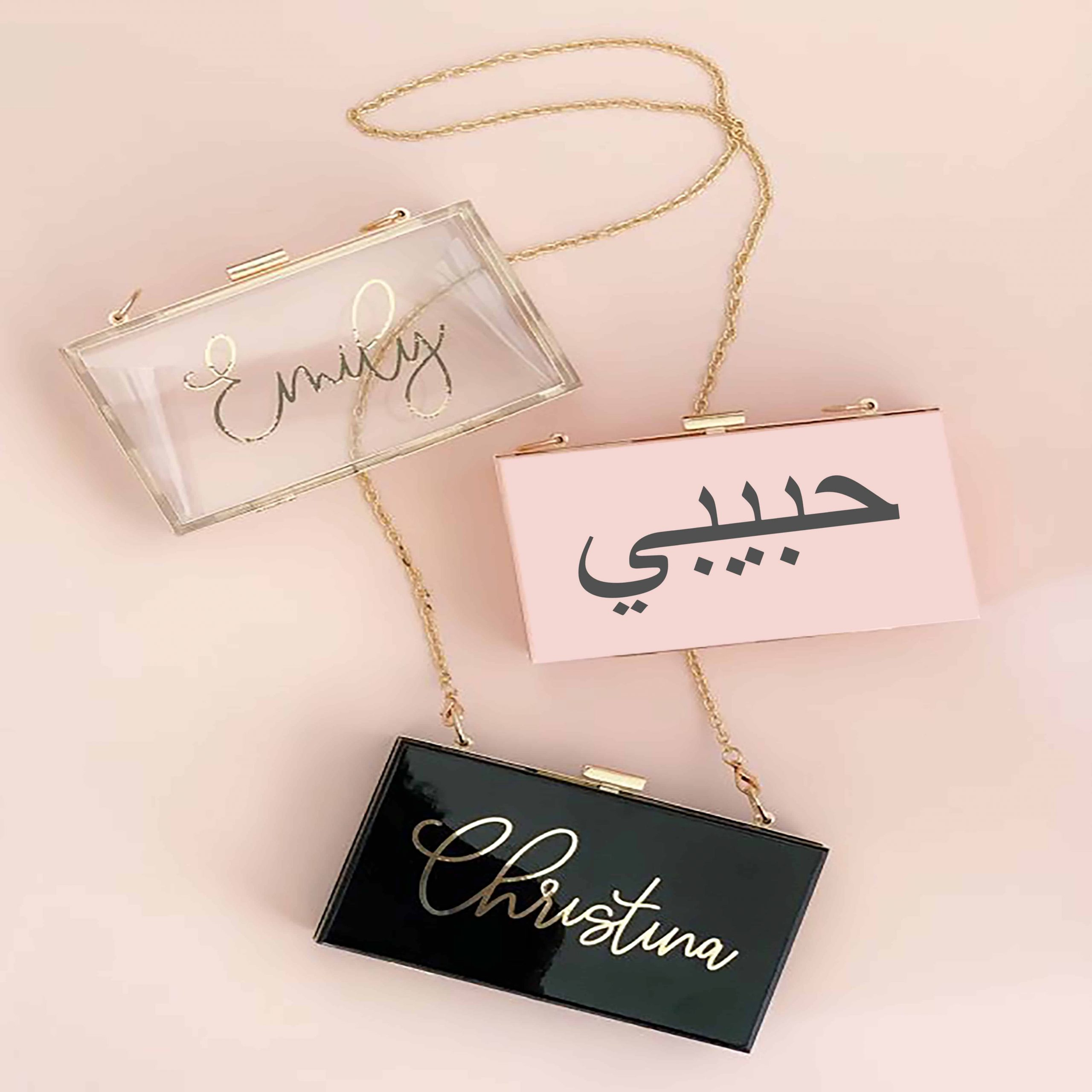 CLUTCH BAG WITH ARABIC 1 Scaled