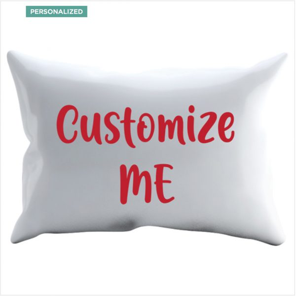 Twinkle Hands Personalised Pillowcase Red